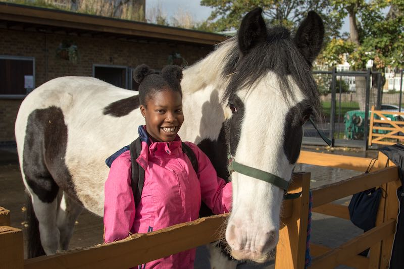 """The Guardian """"Horse power: giving kids the ride of their life"""""""