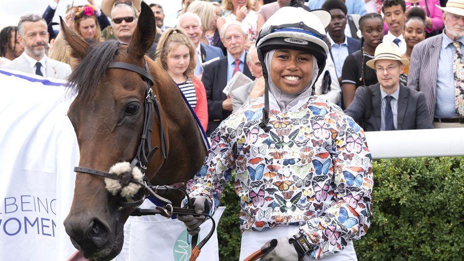 Khadijah wins the Magnolia Cup